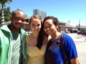 Evansi, Gabby and me.